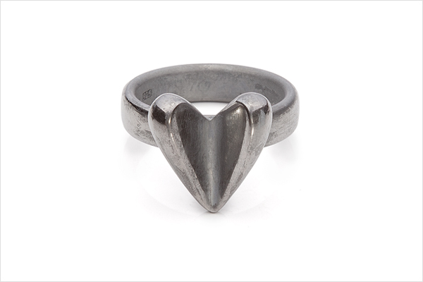 Mallow – oxidized silver