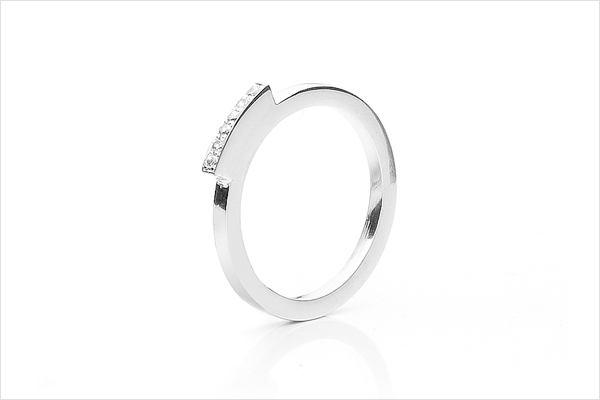 Love bridge – white gold and diamonds