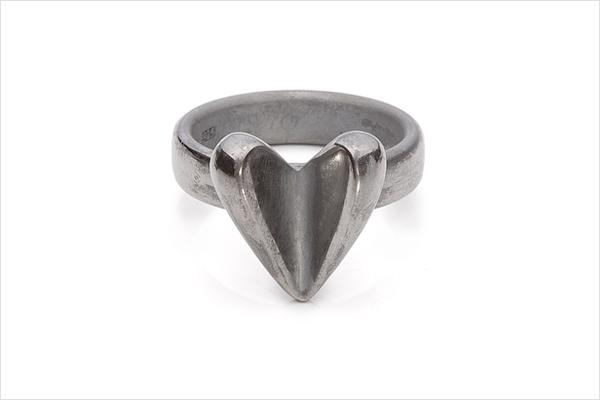 Mallow: oxidized silver