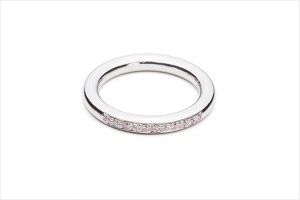 Pink – white gold and pink diamonds